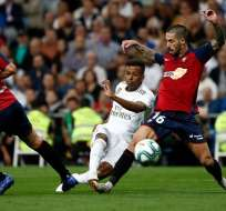 Rodrygo Goes del Real Madrid debutó este miércoles. Foto: Twitter Real Madrid.