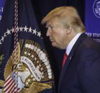 NUEVA YORK, EEUU.- Trump mantuvo una conversación con su homólogo ucraniano Volodimir Zelenski. Foto: AFP