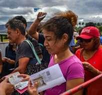 Desde mayo de 2017 hasta julio de 2019 han ingresado al país 1.673.980 venezolanos. Foto: AFP