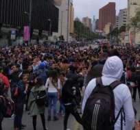 COLOMBIA.- El incidente, cuyo origen se desconoce, es investigado por la Policía y la Fiscalía. Foto: Twitter