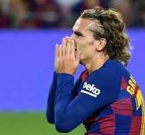 La Federación Española de Fútbol libró al jugador de cualquier responsabilidad. Foto: LLUIS GENE / AFP