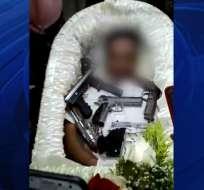 El hombre fue asesinado el lunes 23 de septiembre. Foto: Captura de video