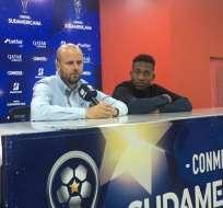 El entrenador español recordó al jugador fallecido de Independiente Juniors. Foto: Tomada de @IDV_EC