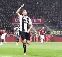 Cristiano Ronaldo, goleador de la Juventus.