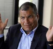 ECUADOR.- Un oficio de Dygoil al expresidente consta entre las 166 pruebas presentadas por Fiscalía. Foto: Archivo