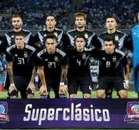 Jugadores de la selección argentina de fútbol.
