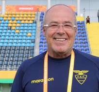 Jorge Célico, entrenador de la selección.