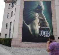 La película se estrenará el 4 de octubre en los cines de Ecuador. Foto: AFP