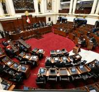 LIMA, Perú.- El Congreso votará este viernes la moción de destituir definitivamente a Vizcarra. Foto: AFP