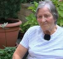Susan Buttery estuvo ocho meses en el hospital.