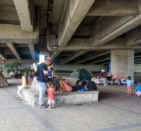 Municipio anuncia acciones tras invasión de pista de skate en Guayaquil . Foto: Tomada de @gellibert