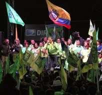 El expresidente Rafael Correa está siendo investigado por este caso. Foto: Flickr Agencia Andes