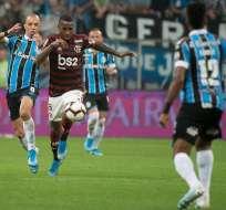 Gremio y Flamengo empataron en la primera semifinal. Foto: Twitter Flamengo.