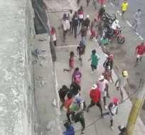 Tras el paro de transportistas se han notificado varios actos criminales en Guayaquil. Foto: Captura de video