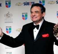 José José posa en el Premio Lo Nuestro en Miami. Foto: AP