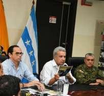 El presidente de la República aseguró que cuando ellos tengan su puesto podrán decidir. Foto: Comunicación Ecuador