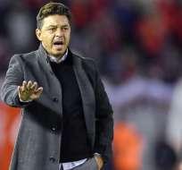 Marcelo Gallardo, entrenador de River Plate.