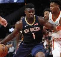 Zion, joven figura de Los Pelicans.