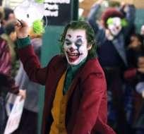Las carcajadas del Joker son histriónicas, perturbadoras.