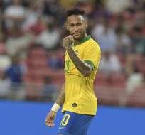 El entrenador brasileño no llamó al delantero debido a la lesión que padece. Foto: Archivo/AFP