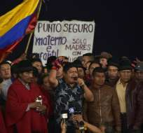 Entre las condiciones que demanda la dirigencia, está que las conversaciones sean públicas. Foto: Archivo AFP