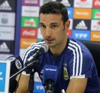 Lionel Scaloni, entrenador de la 'Albiceleste'.