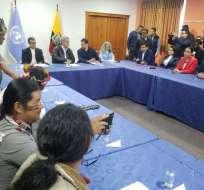 QUITO, Ecuador.- Los indígenas han pedido que la Corte Constitucional revise las posibles reformas. Foto: ONU
