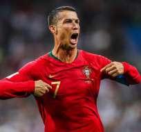 Cristiano Ronaldo, figura portuguesa.
