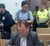 Dictaron prisión preventiva contra Alexandra Arce. Foto: Fiscalía Ecuador.