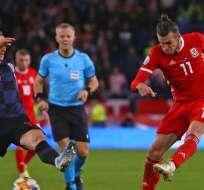 Modric y Bale, figuras europeas.