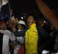 Indígenas festejan derogatoria de decreto en Ecuador. Foto: API