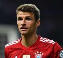 Thomas Muller, figura del Bayern Munich.