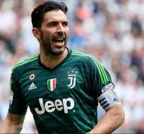 Buffon, portero de la Juventus.
