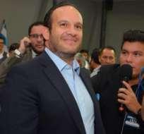 Francisco Egas, presidente de la FEF.