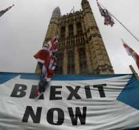 Reino Unido y la UE alcanzan acuerdo de Brexit. Foto: AFP
