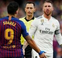 Suárez y Ramos en un Clásico español.