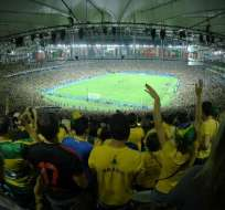 El organismo eligió el estadio Maracaná (Brasil) y el Mario Kempes (Argentina). Foto: Archivo/AFP