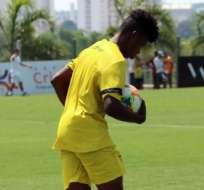 La 'MiniTri' jugó un amistoso como preparación para el Mundial de la categoría. Foto: Tomada de @FEFecuador