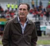 Luis Soler en su paso por Deportivo Cuenca.