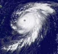 El huracán Bill, que se originó el 15 de agosto de 2009, causó actividad sísmica. Foto:Reuters