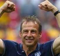 Jürgen Klinsmann, estratega alemán.