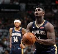 Zion Williamson, figura de Los Pelicans.