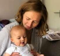 """Heather Sarno llegó a sentirse """"culpable"""" de haber traído a su hijo a un mundo tan incierto."""