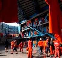 Autoridades buscan reducir hacinamiento en centros carcelarios. Foto: Archivo