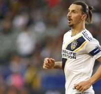 Zlatan Ibrahimovic, delantero sueco.