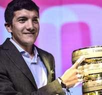 Richard Carapaz, vigente campeón del Giro de Italia.