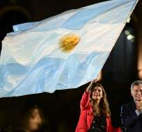 El presidente liberal Mauricio Macri aspira a ser reelecto. Foto: AFP