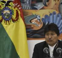 El organismo electoral de Bolivia declaró ganador a Morales en primera vuelta. Foto: AFP