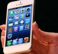 El iPhone 5 fue lanzado en septiembre de 2012. GETTY IMAGES