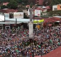 Segunda semana de protestas contra reelección de Morales con choques callejeros. Foto: AFP